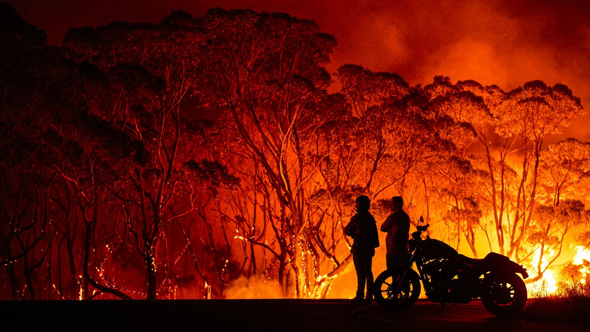 Australia's Wildfires Pump Vast Amounts of Carbon Into the Atmosphere